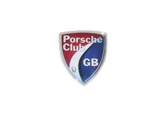 Porsche Club Windscreen Sticker