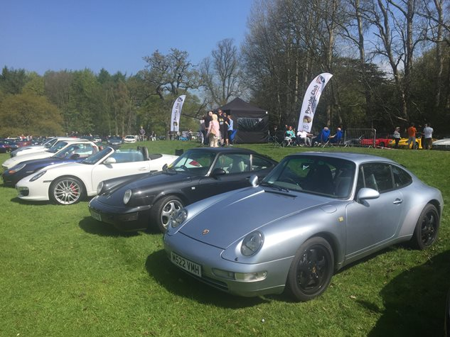Cars in the Park at Newby Hall May 2016