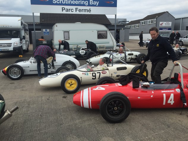 Donington Historic Festival April 2017