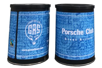 Gas Coffee tin