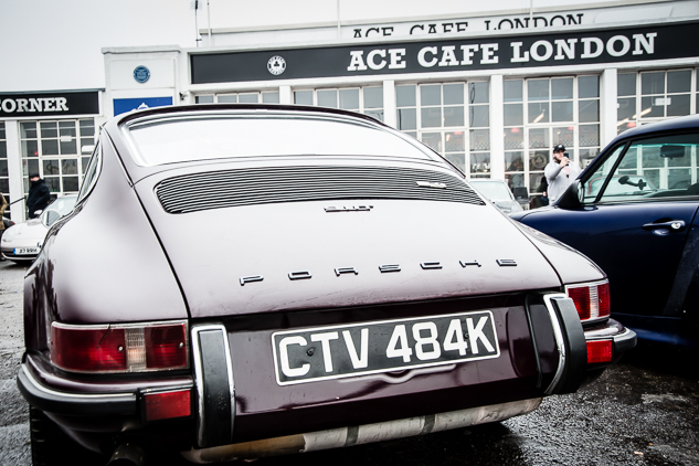 Magnus Walker Breakfast Meet @ Ace Cafe