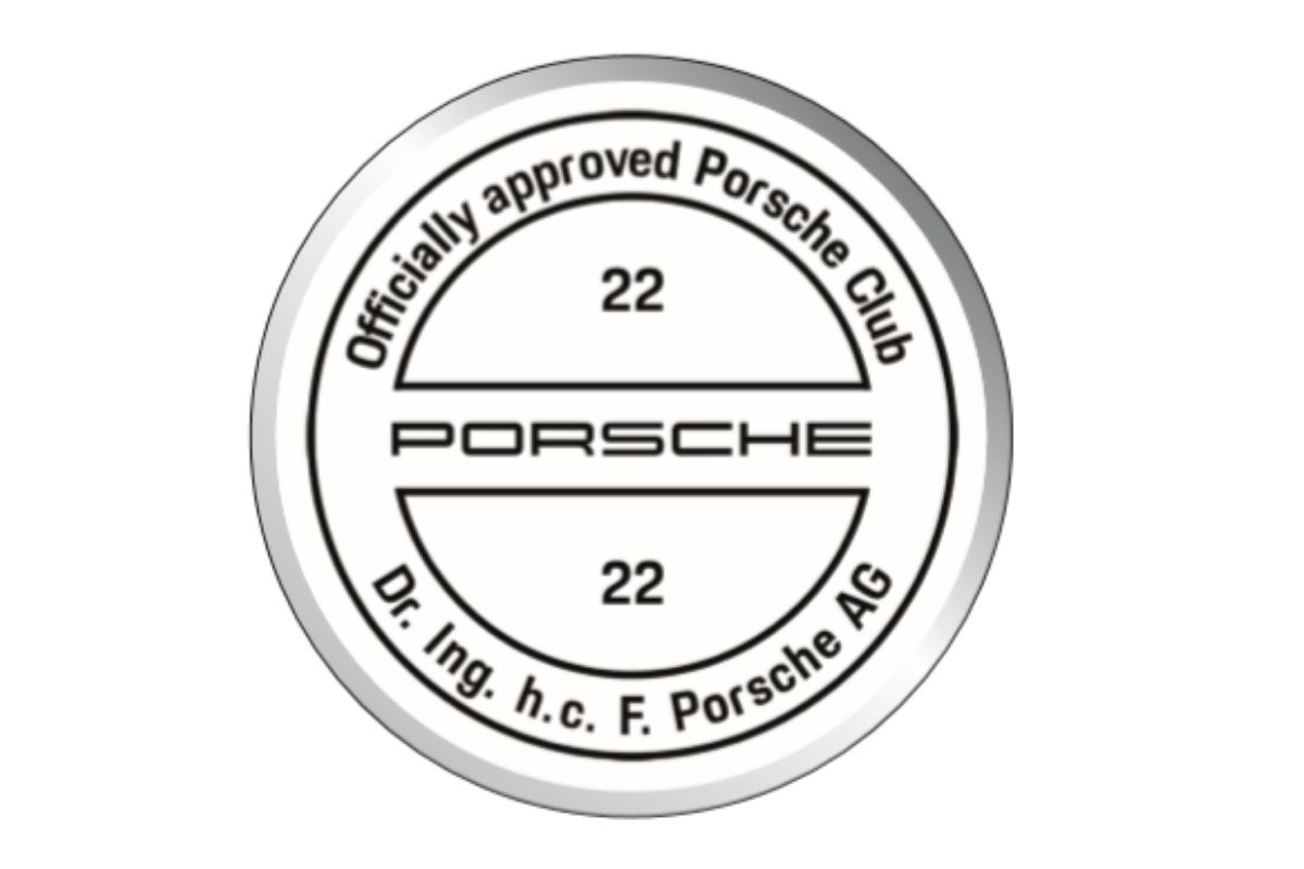 "Porsche Club Great Britain ""22"" Coaster"