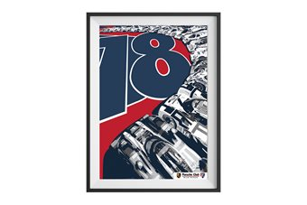 18 Victories Porsche Club Limited Edition Print
