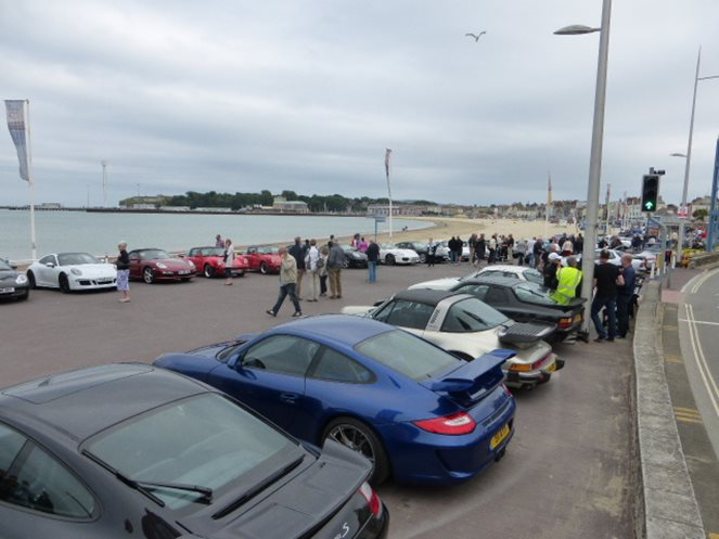 Weymouth Porsches on the Prom