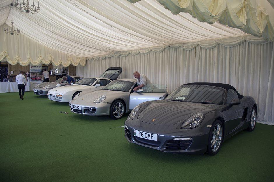 2017 Concours Event   South Wales Galleries   Porsche Club