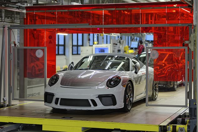Final 991 rolls off the production line