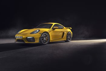 New Porsche 718 Spyder and 718 Cayman GT4 unveiled