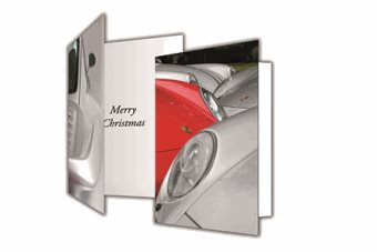 Porsche Club Christmas Cards
