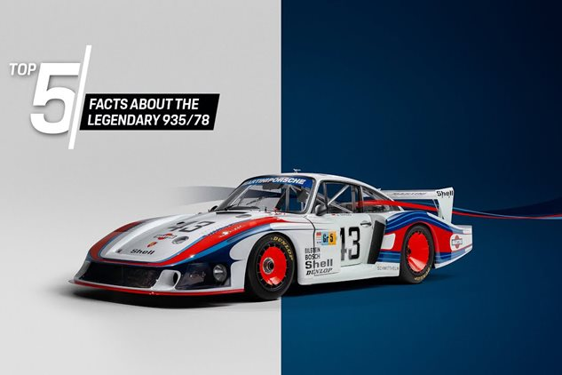 Porsche Top 5: The Legendary 'Moby Dick'