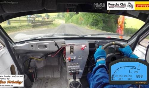 Justin Mather's 924S at the Gurston Down round of teh Baylis & Harding Porsche Club Speed Championship 2014