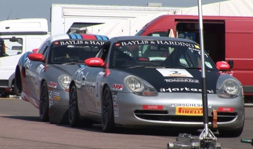Round four of the Baylis & Harding Porsche Club Championship with Pirelli from Rockingham circuit - 12th July 2014