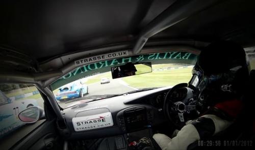Taster of Donington Park round of the Baylis & Harding Porsche Club Championship with Pirelli