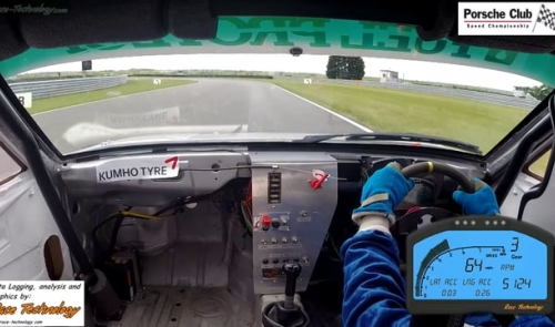 Porsche Club Speed Championship with Pirelli - Snetterton 100 Sprint May 2015 - on-board with Justin Mather - Porsche 924S