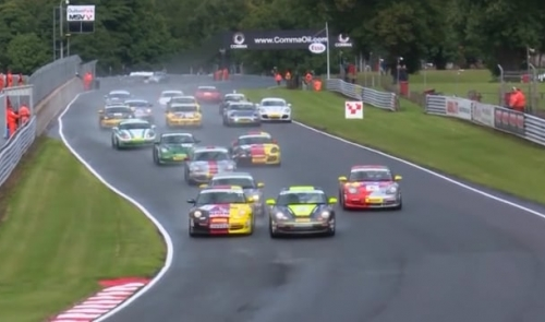 Program 6 of the Fuel Protect Porsche Club Championship with Pirelli – Oulton Park Circuit