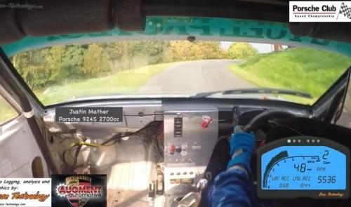 Porsche Club Speed Championship with Pirelli - Justin Mather winning Class 3