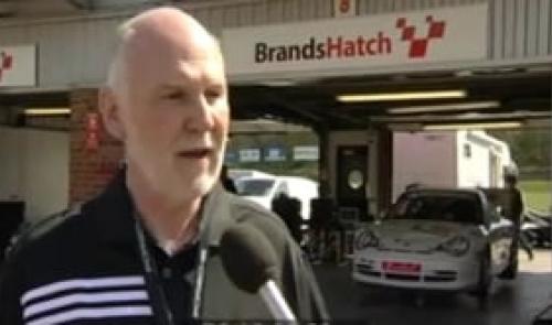 Porsche GT3 Cup Challenge Race 1 Brands Hatch April 2010