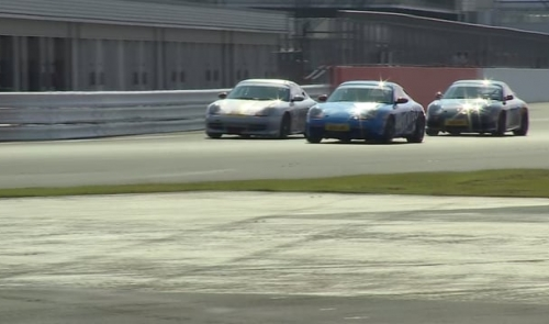 Taster of Round Two of the Sylatech Porsche Club Championship with Pirelli at Silverstone