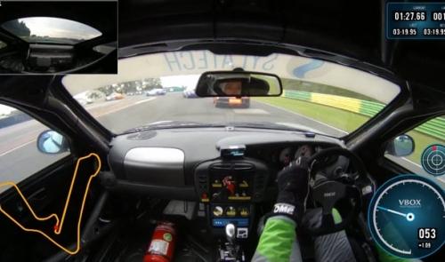 Taster of Croft round of Sylatech Porsche Club Championship with Pirelli - Croft 2016
