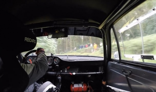 Hillclimb Championship - on-board with Paul Howells - Wiscombe  April 2017