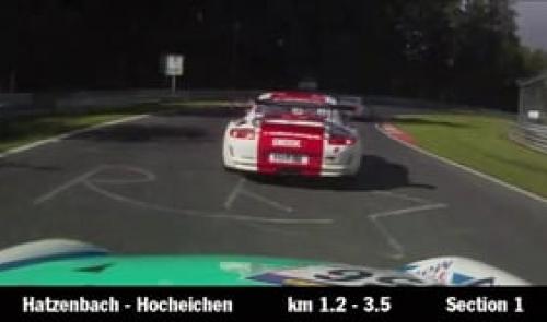 Onboard Nürburgring Nordschleife - Porsche 911 GT3 Cup