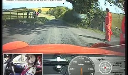 Gurston Down Hillclimb aboard the Porsche 997 GT3 RS of Mark Cowne on 18th June 2011