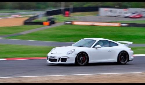 Porsche Club Brands Hatch track evening
