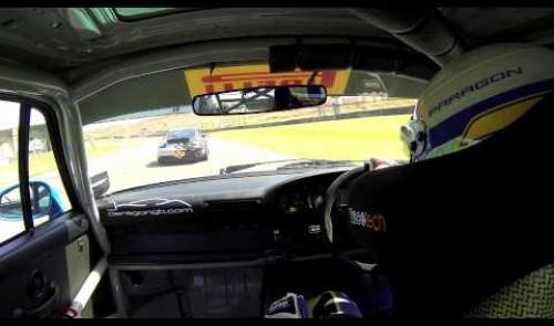 Donington Park June 2013 Race 1 Paragon Porsche